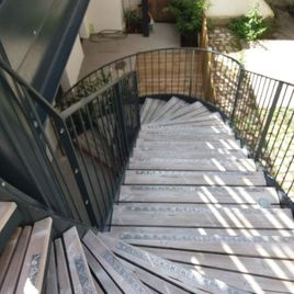escalier METAL CREATION